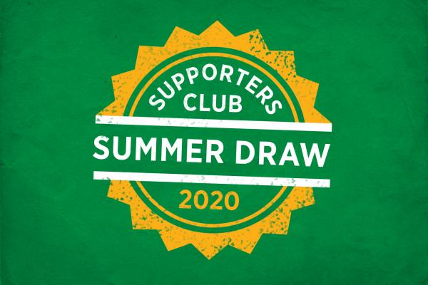 Supporters Club Draw 2020