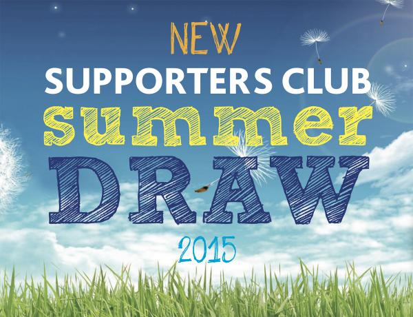 Supporters Club Draw 2015
