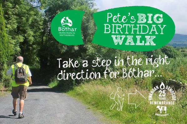Pete's Big Birthday Walk