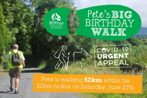 Pete's Big Birthday Walk 2020