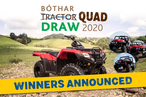 Quad Draw Winners