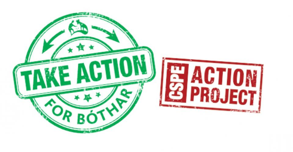 Take Action fo Bóthar Logo - CSPE